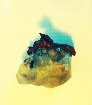 copper and calcite