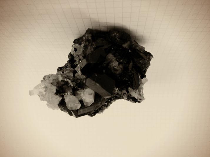 Herkimer diamond © Thea Artemis Kinyon Boodhoo 2015