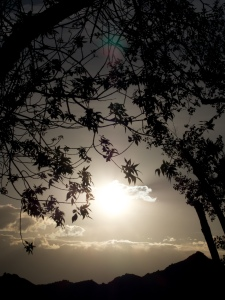 Sunset at Dinosaur