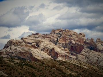 Sandstone being dramatic on the Sound of Silence trail at Dinosaur National Monument