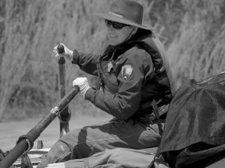 Tamara Naumann is Dinosaur's park botanist, and the founder of the Weed Warrior program.
