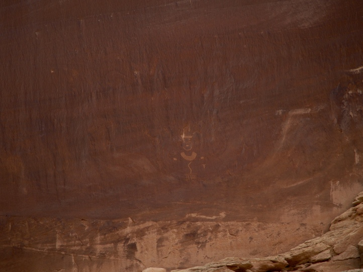 Rock art at Dinosaur National Monument
