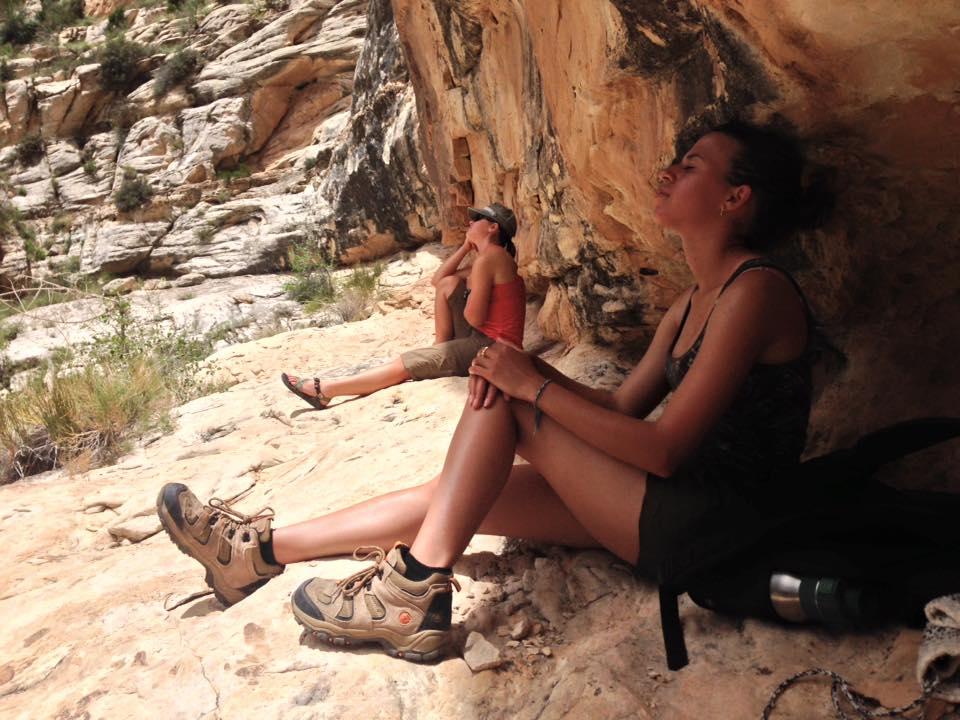 Marie and Trinity at Box Canyon