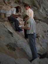 Marie, Trinity and Elliott at Carnegie Quarry
