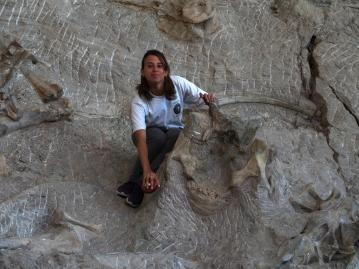 Marie Jimenez at Carnegie Quarry